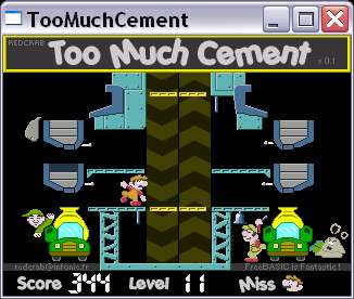 Too Much Cement